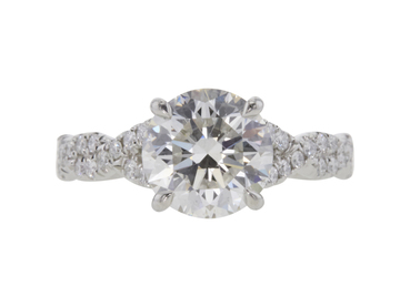 2.01 CT ROUND CUT SOLITAIRE RING