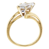 1.45 ct. Marquise Cut Solitaire Ring, H-I, I1 #3