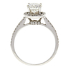 1.01 ct. Round Cut Bridal Set Ring, J, VS2 #4