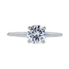 0.95 ct. Round Cut Solitaire Ring, E, SI1 #3
