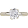 1.08 ct. Oval Cut Solitaire Ring, D, SI1 #3