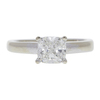 1.25 ct. Cushion Cut Solitaire Ring, I, VS2 #3