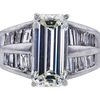 4.77 ct. Emerald Cut Solitaire Ring, K, VS1 #2