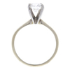 0.83 ct. Round Cut Bridal Set Ring, F, VS1 #3