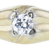 0.72 ct. Circular Brilliant Cut Bridal Set Ring, G, VS2 #1