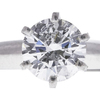 1.21 ct. Round Cut Solitaire Ring, H, SI2 #4