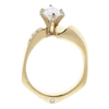 1.51 ct. Marquise Cut Bridal Set Ring, D, VS1 #4