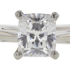 1.03 ct. Cushion Cut Solitaire Ring, G, VS2 #4