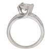 0.91 ct. Princess Cut Solitaire Ring, H, I1 #2