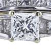 1.00 ct. Princess Cut Bridal Set Ring, H, SI2 #4