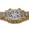 1.51 ct. Princess Cut Bridal Set Ring #1