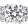 1.02 ct. Round Cut Solitaire Ring, G, VS2 #4