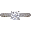 0.72 ct. Radiant Cut Solitaire Ring, D, VS1 #3