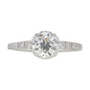 0.99 ct. Circular Brilliant Cut Solitaire Ring, H, SI1 #3