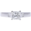 0.86 ct. Princess Cut Solitaire Ring, G, VS2 #3