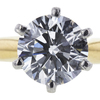 1.06 ct. Round Cut Solitaire Ring, H, VS2 #4