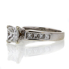 1.18 ct. Princess Cut Solitaire Ring #3