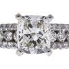 1.52 ct. Cushion Modified Cut Bridal Set Ring, J, I2 #4