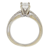 1.01 ct. Radiant Modified Cut Bridal Set Ring, I, I1 #4