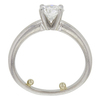 0.92 ct. Round Cut Solitaire Ring, G, VS2 #4