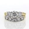 .98 ct. Round Cut Bridal Set Ring #3