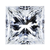 1.04 ct. Princess Cut Bridal Set Ring, H, VS1 #1