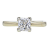 1.03 ct. Princess Cut Solitaire Ring, G, SI1 #3