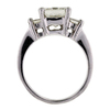 2.14 ct. Princess Cut 3 Stone Ring #3