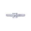 0.54 ct. Square Modified Cut Solitaire Tiffany & Co. Ring, E, VVS1 #3