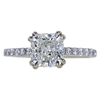 1.70 ct. Cushion Cut Solitaire Ring, I, SI1 #3
