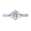 1.09 ct. Round Cut Solitaire Ring, G, VS1 #2