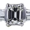 1.02 ct. Emerald Cut Solitaire Ring, G, VVS2 #4
