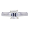 1.02 ct. Emerald Cut Solitaire Ring, I, VS1 #3