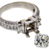 1.82 ct. Radiant Cut Bridal Set Ring #3