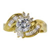 1.07 ct. Round Cut Right Hand Ring, J, I1 #2
