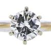 1.01 ct. Round Cut Bridal Set Ring, J, SI2 #4