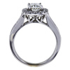 1.20 ct. Cushion Cut Bridal Set Ring, K, SI1 #1