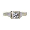 0.94 ct. Princess Cut Solitaire Ring, H-I, VVS1-VVS2 #2