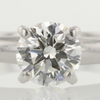 0.85 ct. Round Cut Solitaire Ring #1