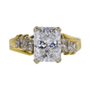 1.90 ct. Radiant Cut Solitaire Ring, E, I1 #3