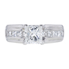 1.11 ct. Princess Cut Solitaire Ring, F, VS2 #3