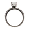 1.22 ct. Round Cut Bridal Set Ring #4