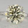 4.36 ct. Round Cut Solitaire Ring #4