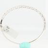 Round Cut Bangle Bracelet #1