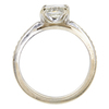 1.05 ct. Princess Cut Bridal Set Ring, K, VS2 #4
