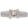 1.01 ct. Princess Cut Solitaire Ring, J, VS1 #3