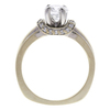 1.03 ct. Round Cut Ring, F, SI1 #4
