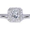 1.70 ct. Round Cut Bridal Set Ring, H, SI1 #3