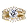 1.15 ct. Round Cut Bridal Set Ring, I, VS2 #1