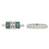 1.01 ct. Radiant Cut Bridal Set Ring, E, SI1 #3
